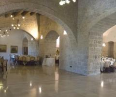 Sala per il buffet di matrimonio