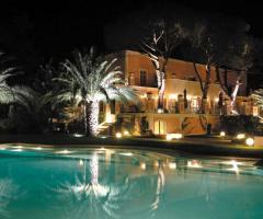 Villa San Martino - Vista dalla piscina di nozze