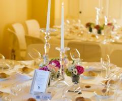 Cala dei Balcani - L'allestimento della tavola