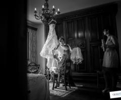 Preparativi sposa prima del matrimonio Qualcosa di Blu
