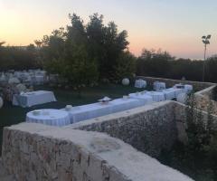 Masseria Santa Teresa -  Allestimento in giardino