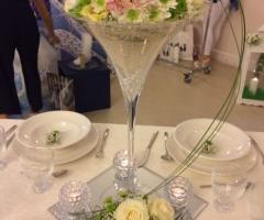 Luisa Mascolino Wedding Planner Sicilia - Centrotavola con fiori