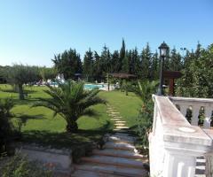 Masseria Montepaolo - Il giardino