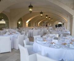 Masseria Traetta Exclusive - La sala interna per il ricevimento