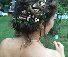 Opere di fata - l'acconciatura della sposa