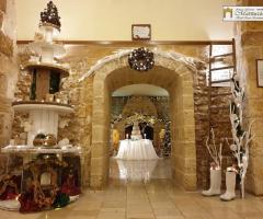 Antica Masseria Martuccio - La sala con la torta nuziale