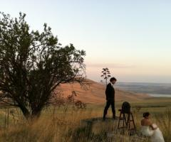 Servizio fotografico di matrimonio in campagna
