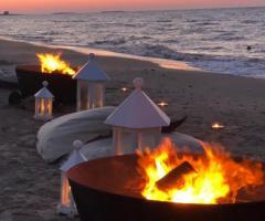 Guna Beach Club - I fuochi sulla spiaggia