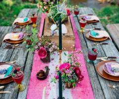 Le Rose di Zucchero Filato - Un allestimento originale