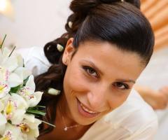 Rosa Laguardia Hair Style - La cura della bellezza della sposa