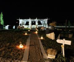 Masseria Torre di Nebbia - Il rito civile di sera