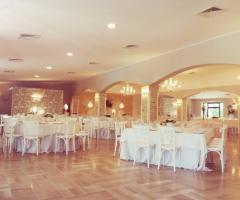 Masseria Cariello Nuovo -  Allestimento della sala Effemme