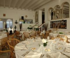 Castello Miramare - Tavoli del banchetto nuziale