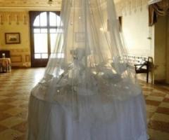Allestimento per il ricevimento di nozze