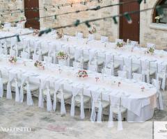 Masseria Bonelli - La disposizione dei tavoli