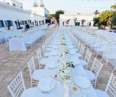 Masseria San Nicola - Allestimento in bianco