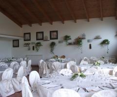 Borgo La Fratta - l'ampia sala dei ricevimenti