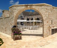 Masseria Grieco - L'entrata della location
