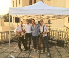 MB Live Wedding & Party - In terrazza sotto il gazebo