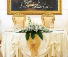Tavolo degli sposi della sala
