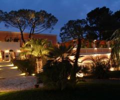 Villa San Martino - La location di sera