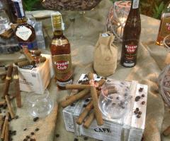 Angolo dei sigari e rum