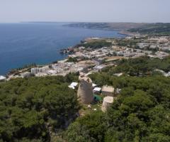 Cala dei Balcani - Il panorama di Santa Cesarea Terme