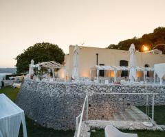 Cala dei Balcani - L'atmosfera delle nozze al tramonto