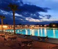 Grand Hotel Vigna Nocelli Ricevimenti - La piscina al tramonto