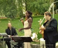 Musica per matrimoni all'aperto