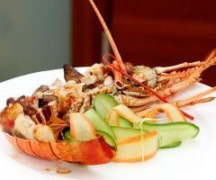 Masseria Bonelli - Secondo piatto di pesce per il matrimonio