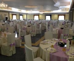 Villa Royal - Le Cascate - Sala interna per il ricevimento di nozze