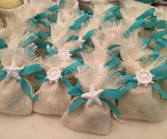 Confetti Amore e Fantasia - Sacchetti per i confetti alla marinara