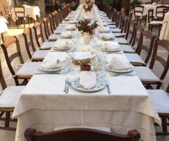 Masseria del Gelso Antico - Allestimento in bianco