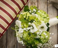 Foto Bouquet matrimonio - Qualcosa di Blu