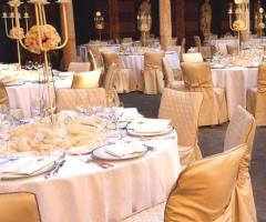 Palazzo Trecchi - Allestimento di classe per il rinfresco di nozze
