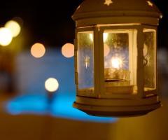 Poggio Ruppelt dal Tedesco 1930 - Allestimento di lanterne per il matrimonio