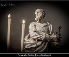 Fabrizio Foto - Statua della chiesa