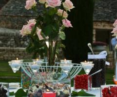 Lady Tiffany - Centrotavola floreale