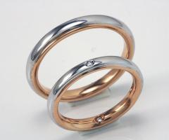 Biffi Gioielli - Fedi in oro bianco e rosa