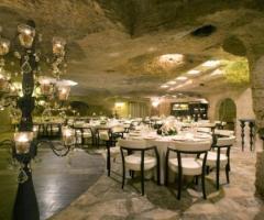 Masseria Torre Coccaro - Sala del frantoio per il ricevimento di matrimonio