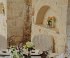 Masseria Grieco - Dettagli della tavola