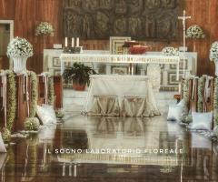 Il Sogno - Laboratorio Floreale - All'interno della chiesa