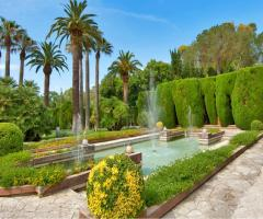 Villa Vergine - Fontane della location di matrimonio