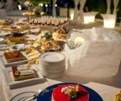 Giardini Venusio - Tavolo dei dolci al matrimonio