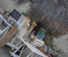 Castello Miramare - Preparazione del buffet di nozze sulla spiaggia
