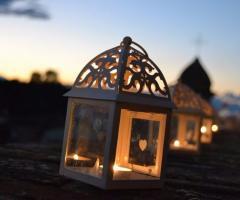 Castello di Cortanze - Le lanterne