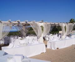 Masseria Santa Teresa - Il ricevimento di matrimonio all'aperto