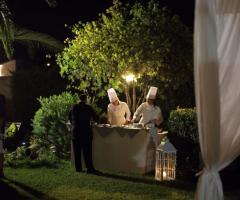 Emozioni Wedding Planner - Servizio all'aperto di sera
