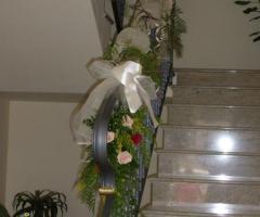 Braccialetto per le damigelle con brillantini fiori - Addobbi floreali casa sposa ...